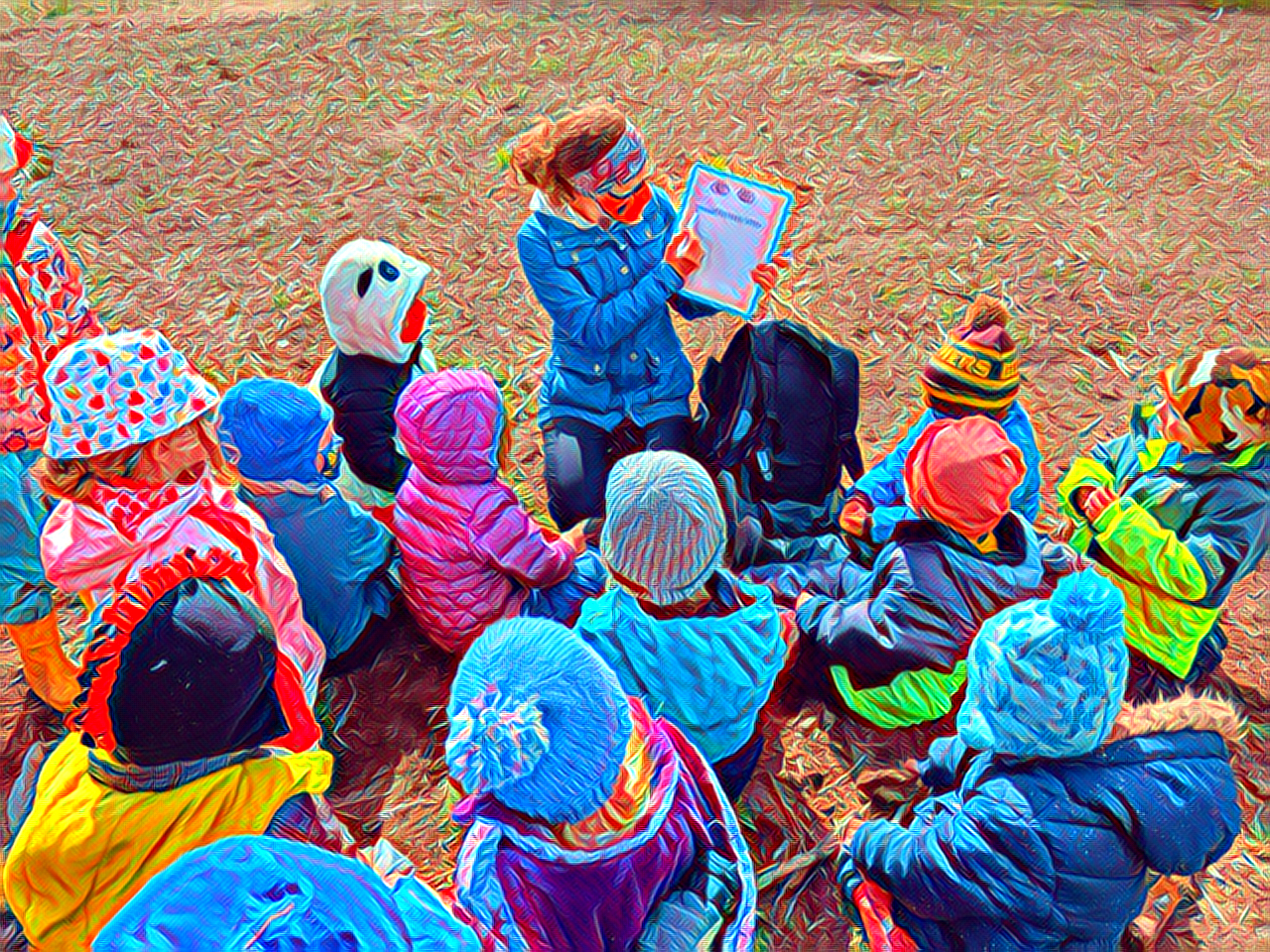 Natural Wonders: Outdoor Family Storytime