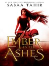 Young Adult Book Club - An Ember in the Ashes by Sabaa Tahir