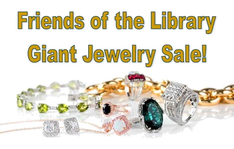 Friends of the Library Giant Jewelry Sale