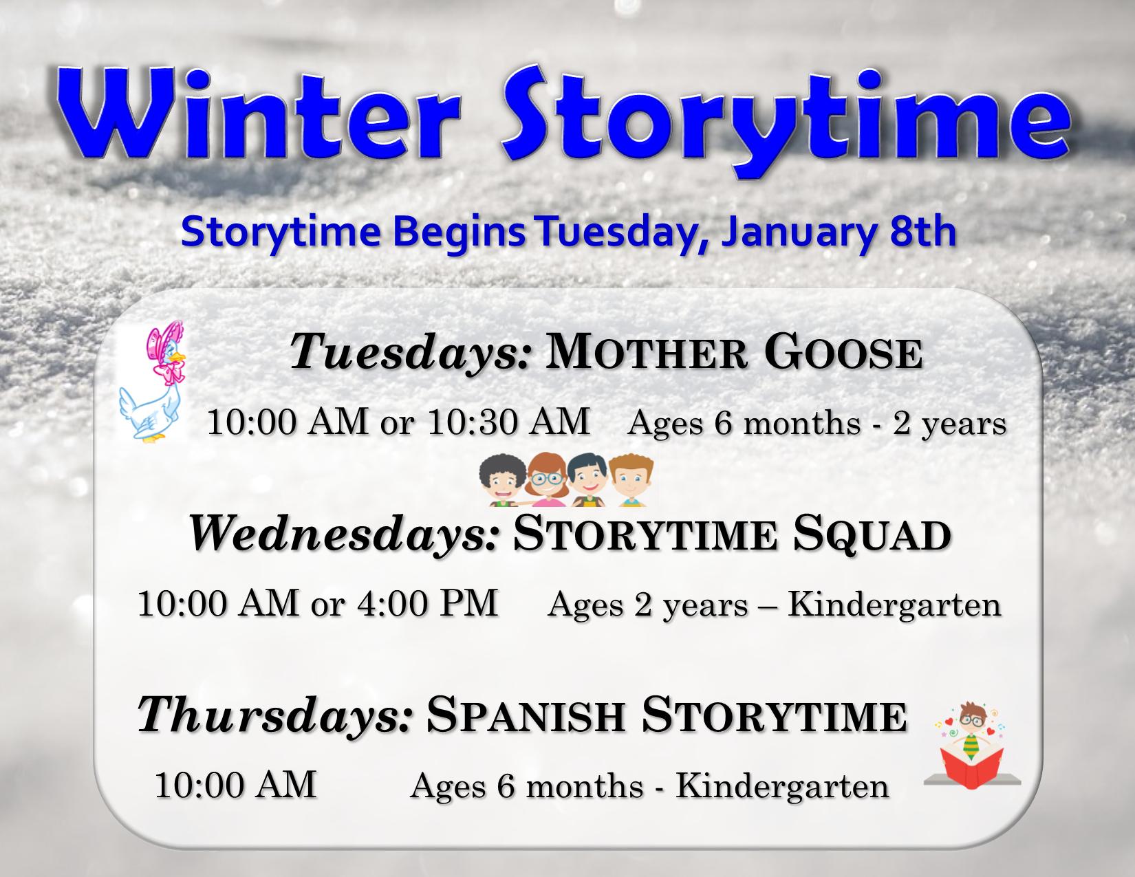 Spanish Storytime