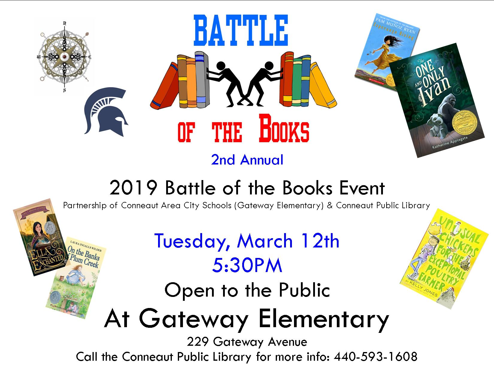 Battle of the Books 2018-19