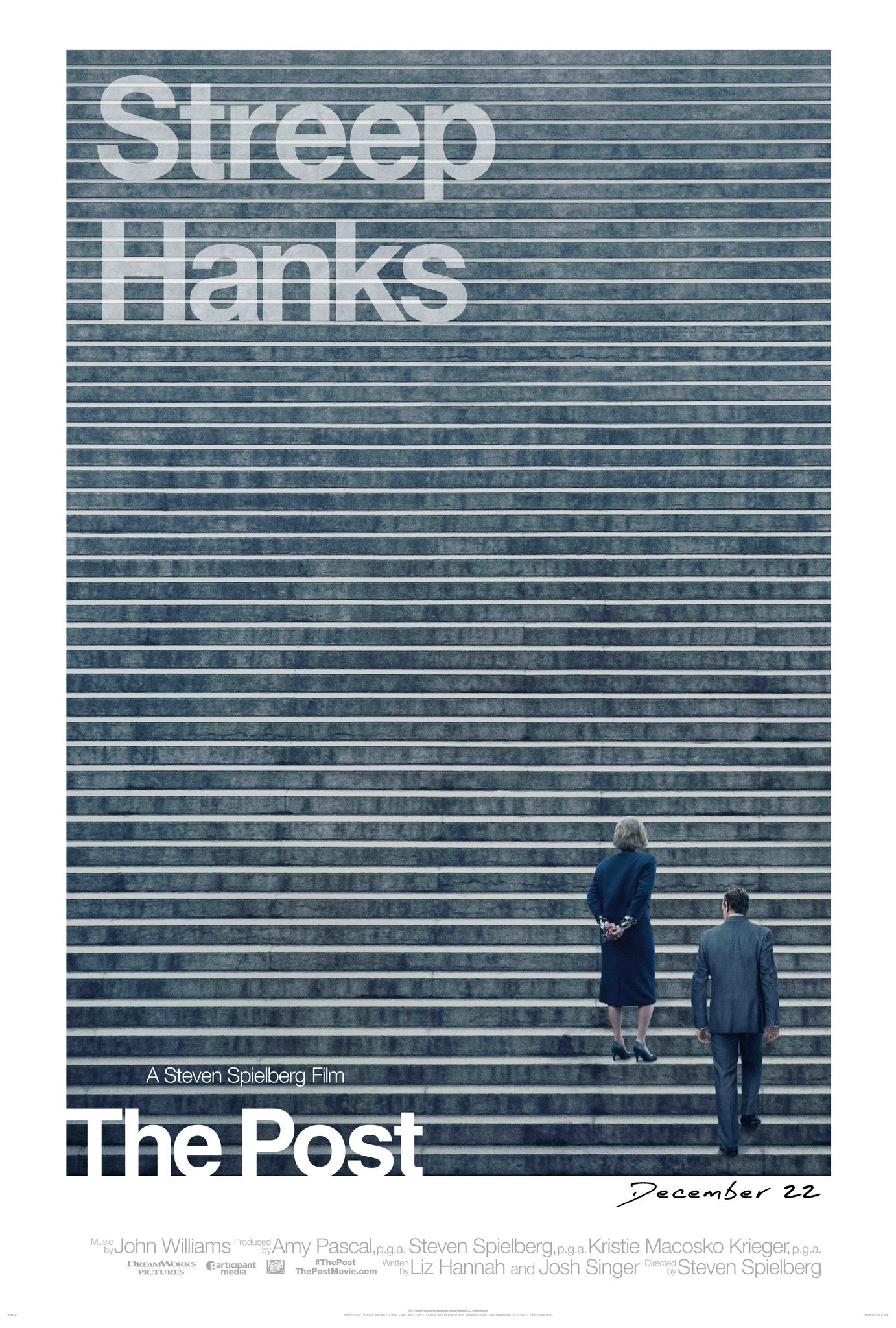 Thursday Afternoon Movies: The Post