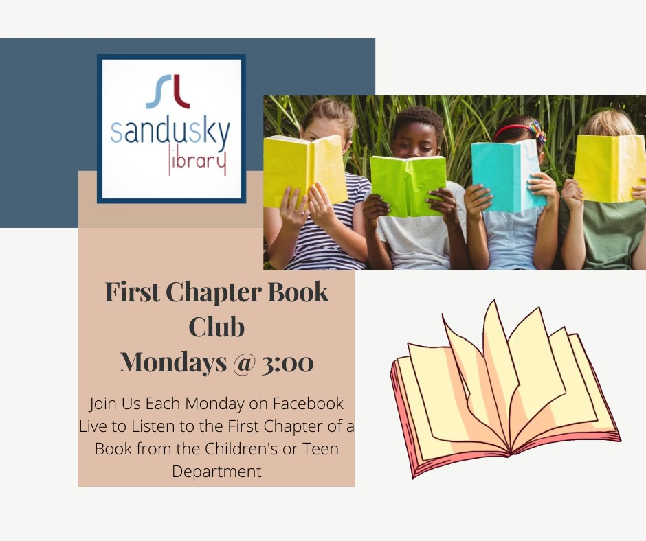 Facebook Live First Chapters Book Club