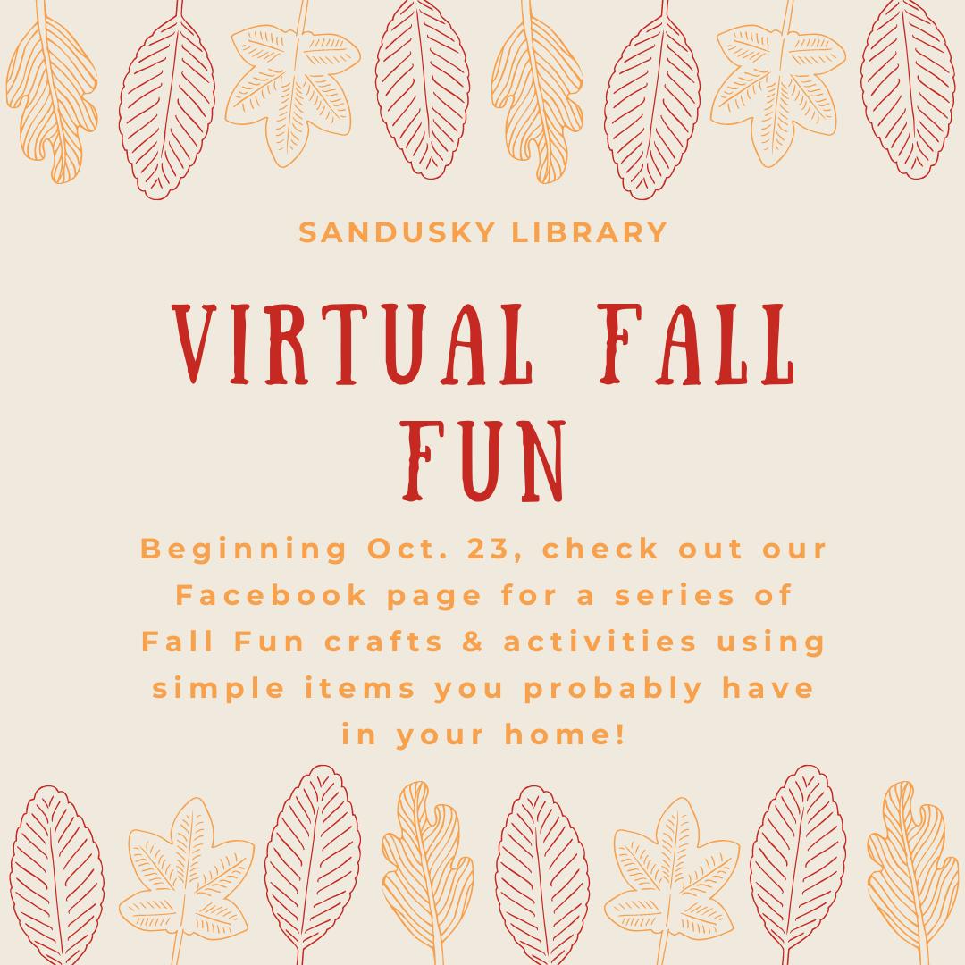 Virtual Fall Fun: Crafts & Activities