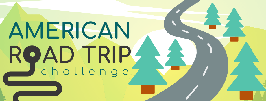 Beanstack Reading Challenge:  Virtual American Road Trip