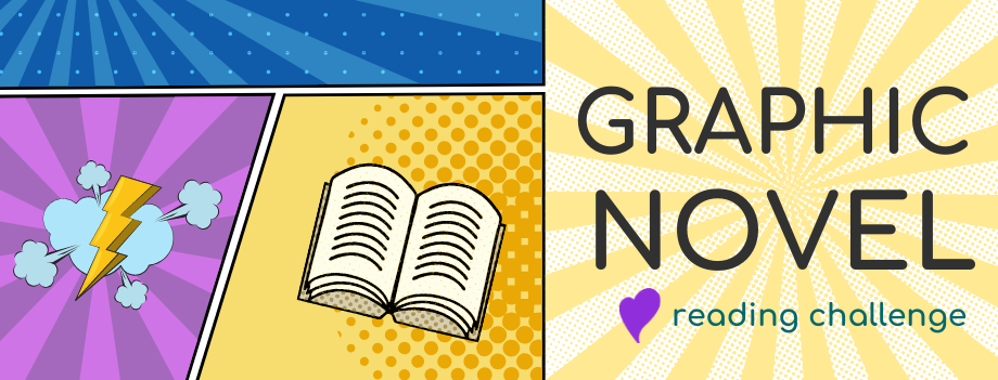 Beanstack Reading Challenge:  Graphic Novel Challenge 2021