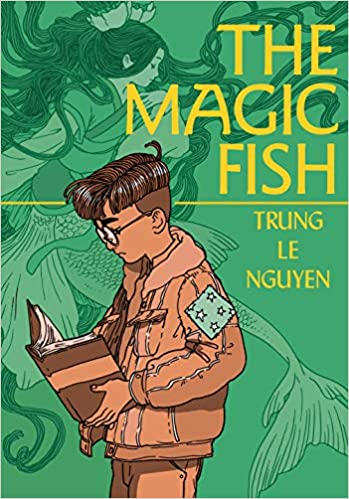 Virtual Young Adult Book Club:  The Magic Fish by Trung Le Nyugen