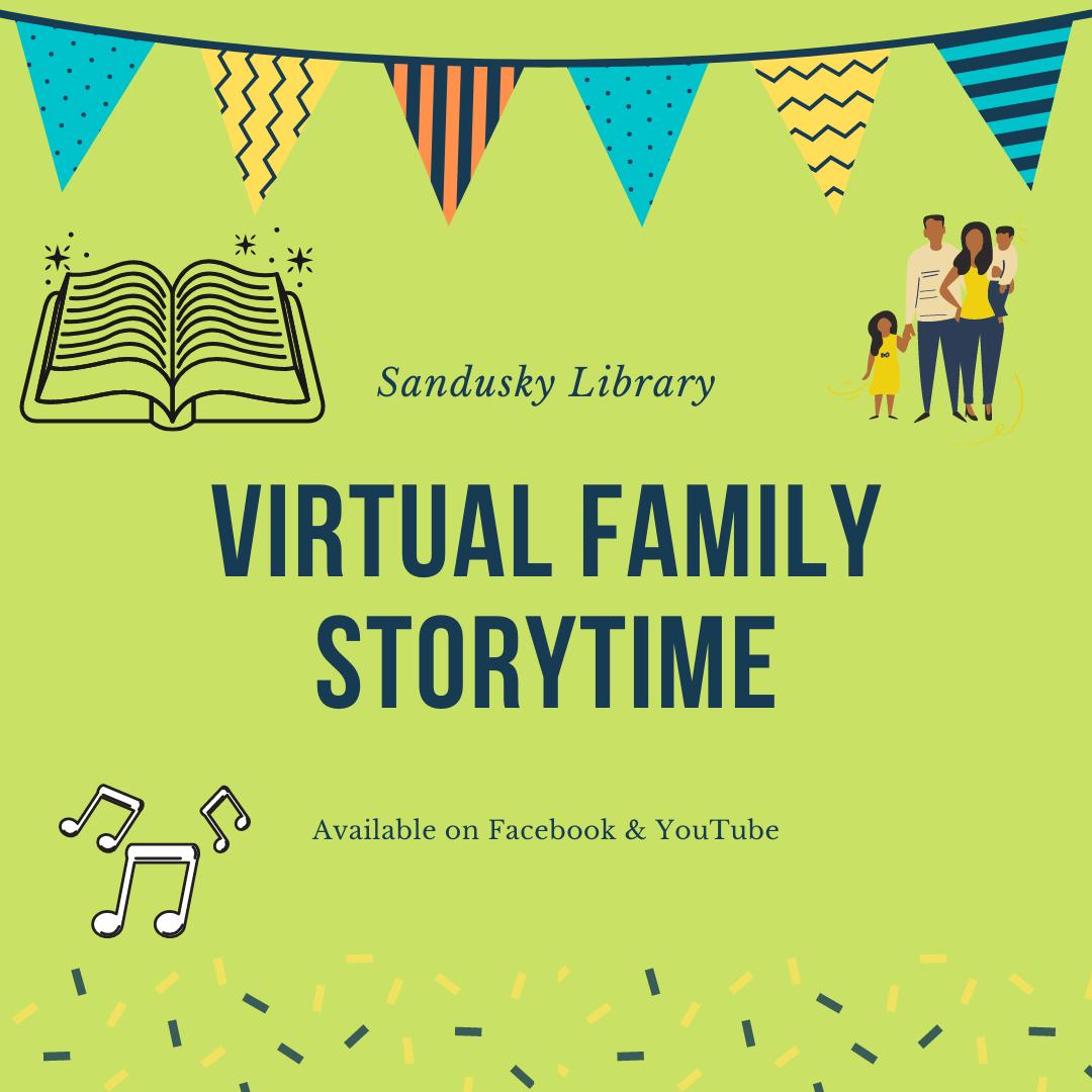 Sandusky Library Virtual Family Storytime - Weather