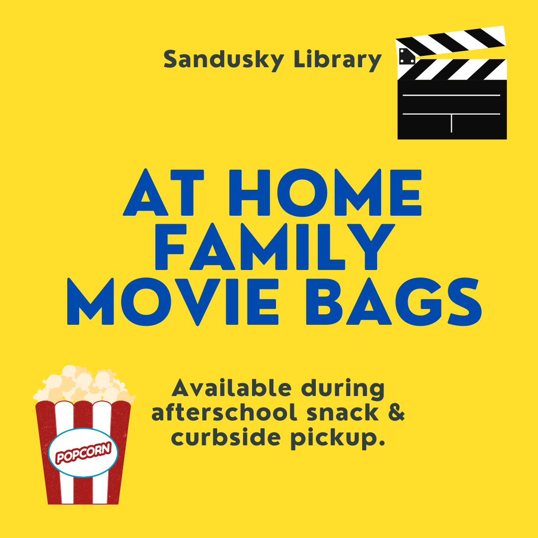 At Home Family Movie Bags - January