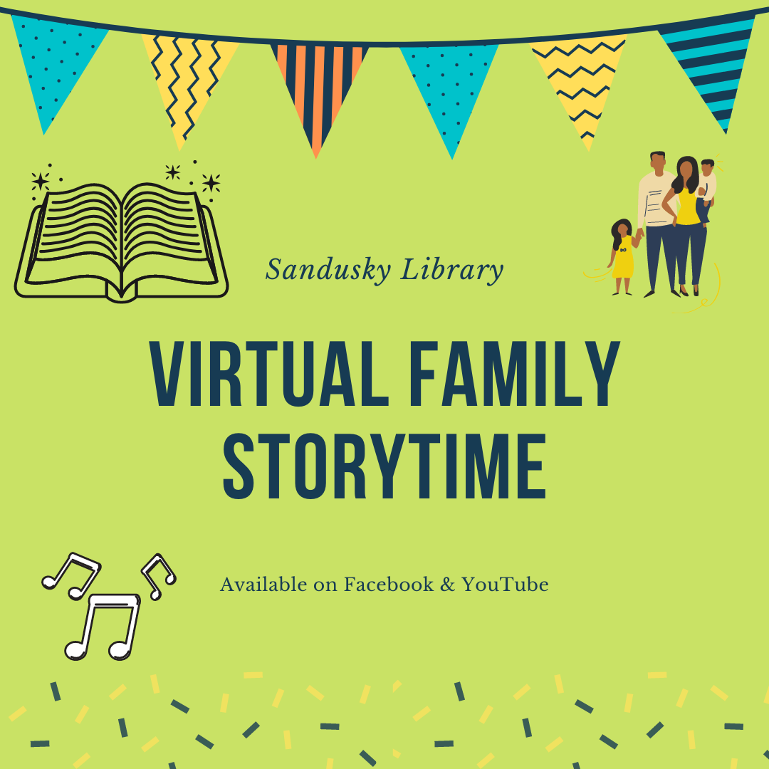 Sandusky Library Virtual Family Storytime