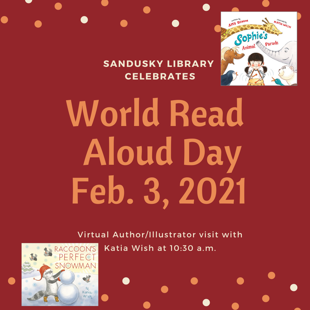 World Read Aloud Day - Virtual Author Visit with Katia Wish
