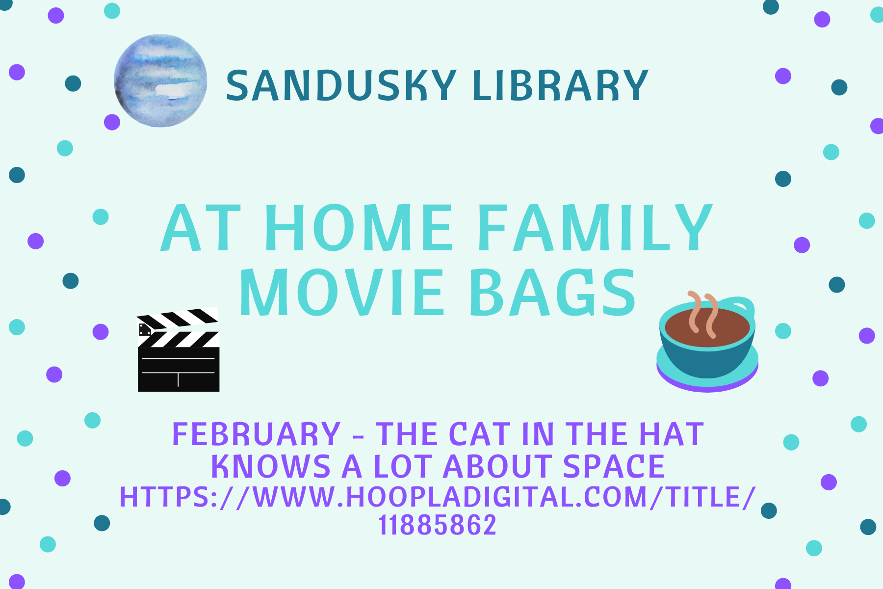 At Home Family Movie Bags - February