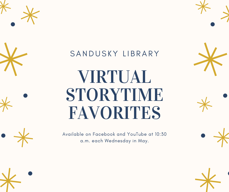 Sandusky Library Virtual Storytime Favorites