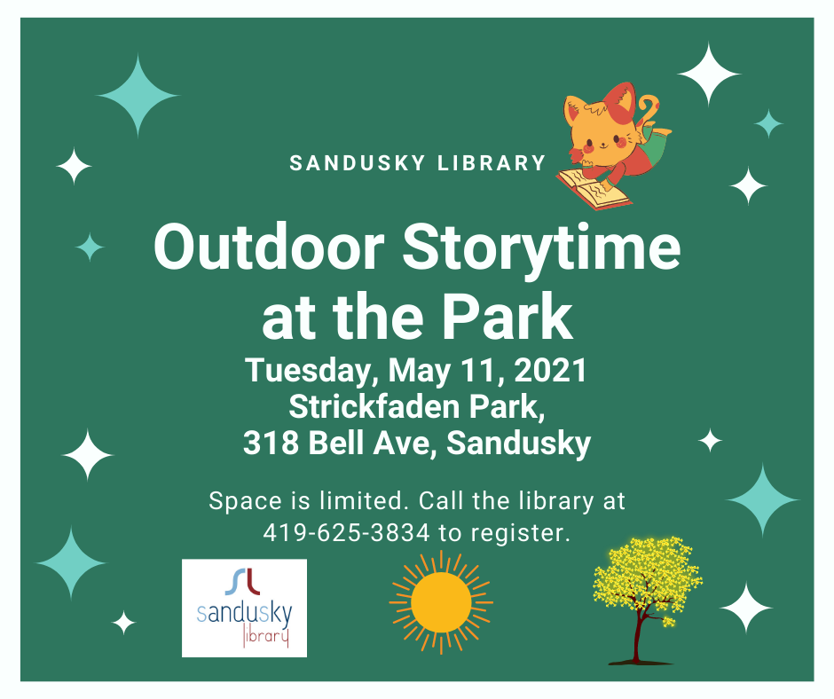 Outdoor Storytime at the Park