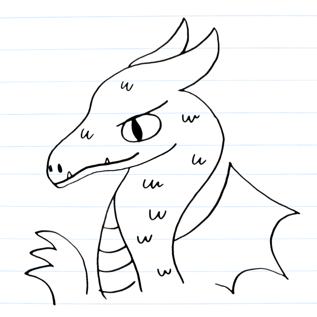 Virtual Program:  Drawing Mythical Creatures