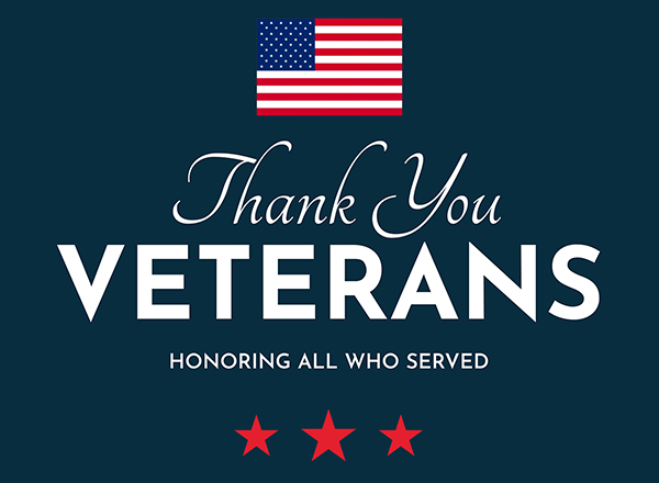Library Closed: Veterans' Day
