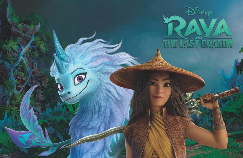 Free Family Movie: Raya and the Last Dragon (PG)