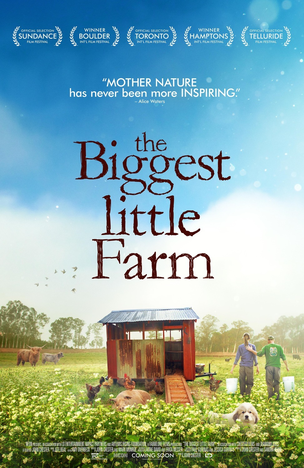 Theater on Thursday: Movie Discussion: The Biggest Little Farm
