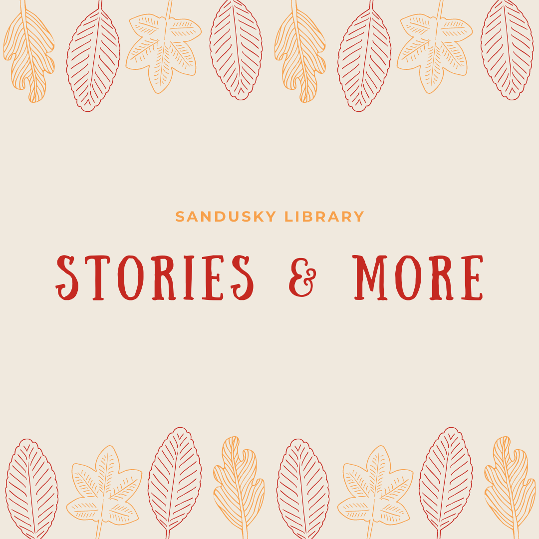 Stories & More: Wednesday Session 1 11:00 a.m.