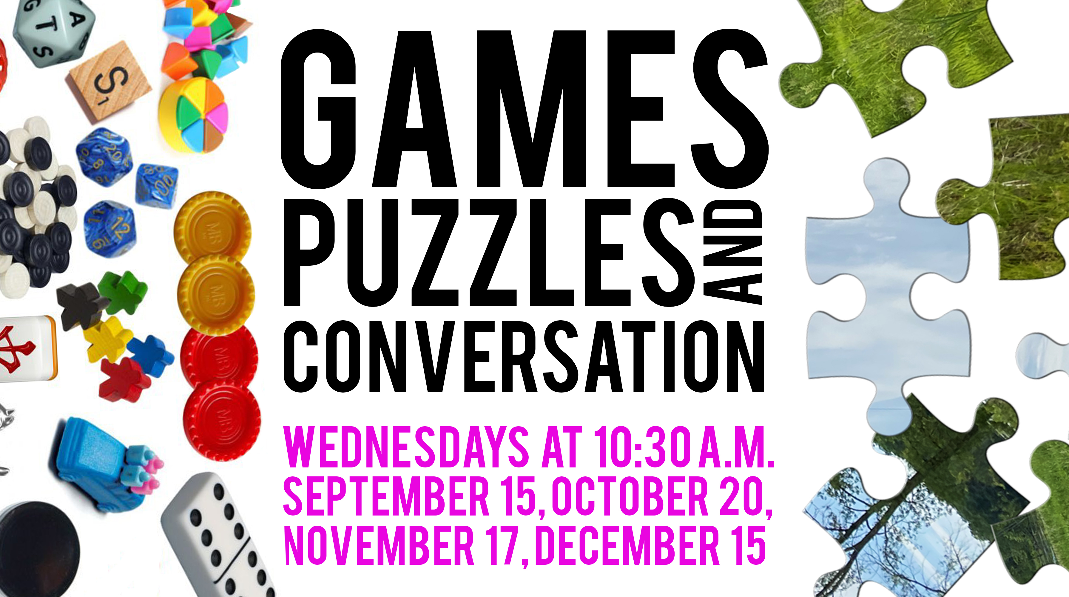 Games, Puzzles, and Conversations