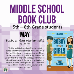 Middle School Book Club Virtual Discussion