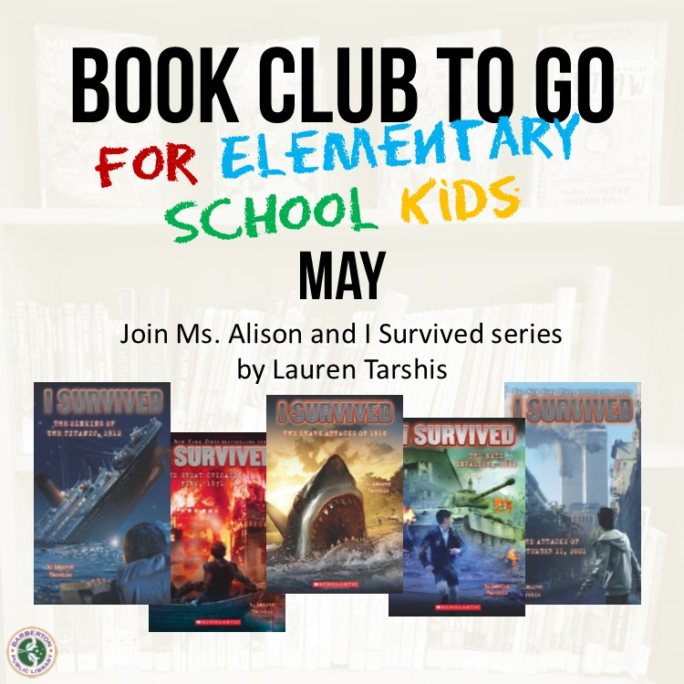 Virtual Discussion for Book Club to Go for Elementary School Kids