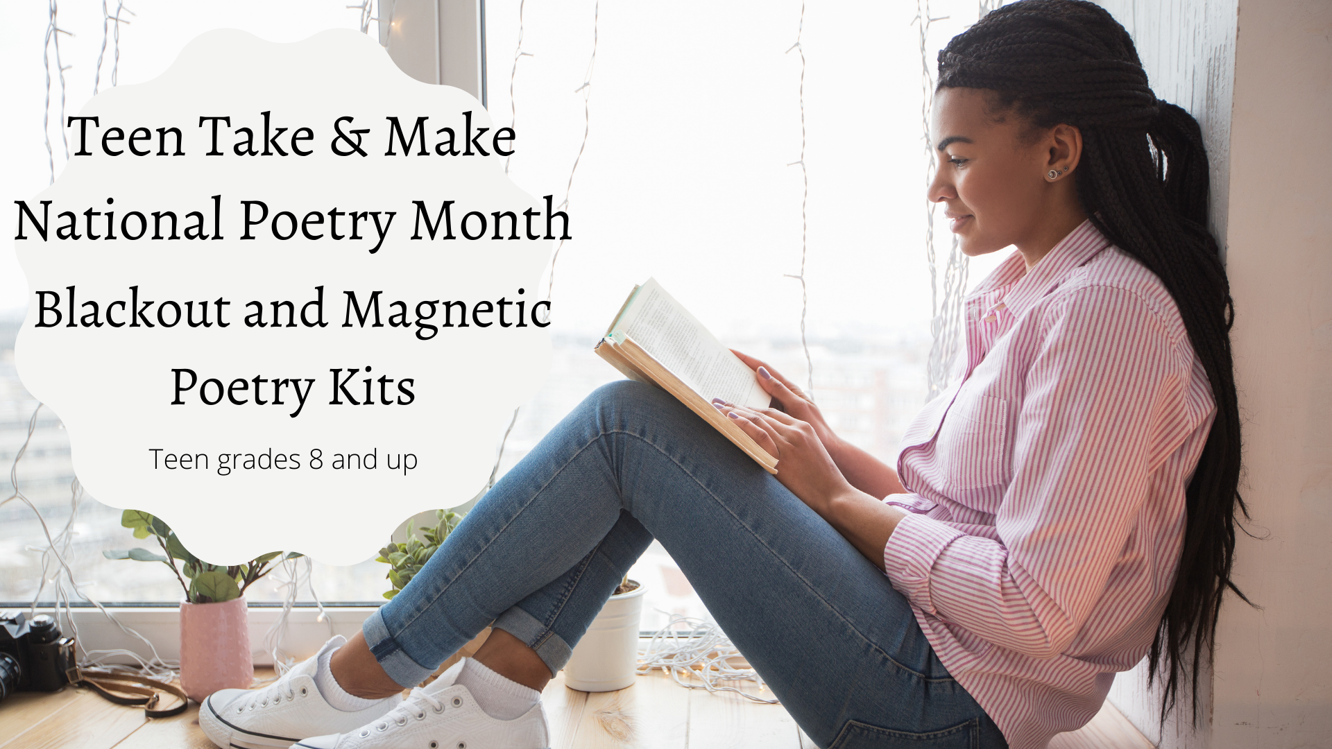 Teen Take & Make: National Poetry Month