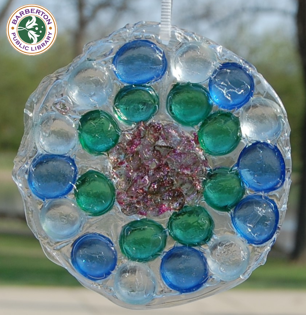 Virtual Craft Corner: DIY Suncatcher