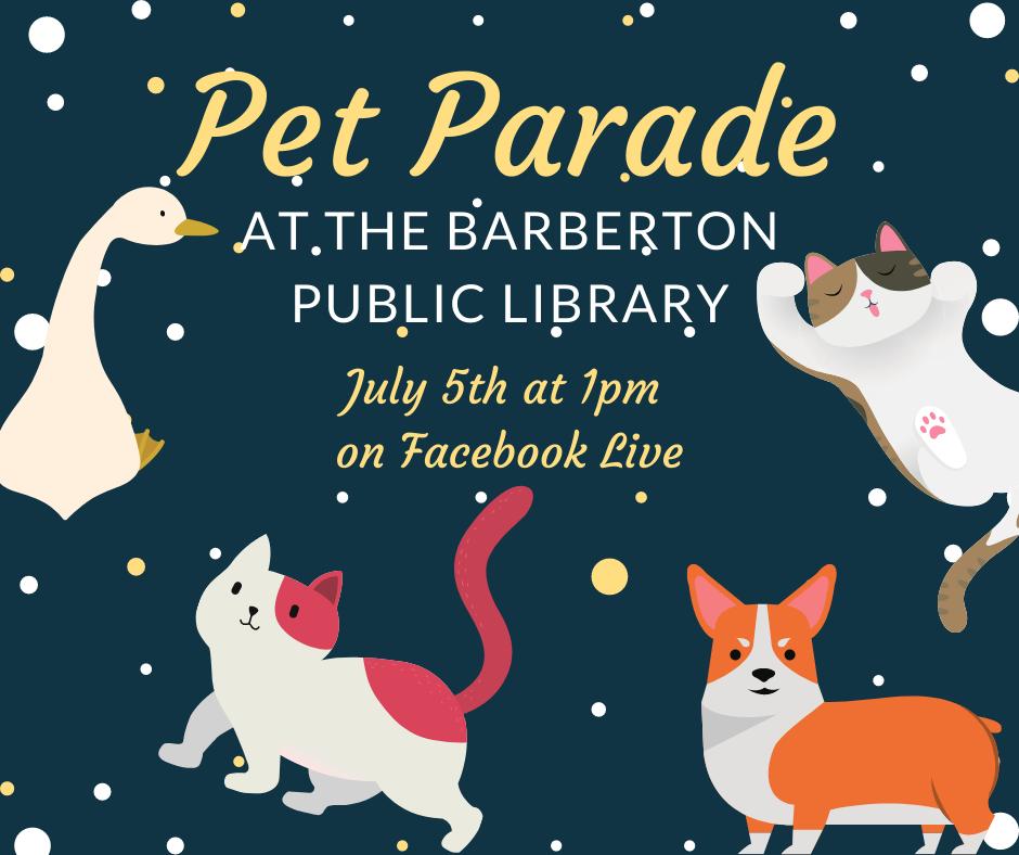 Virtual Pet Parade