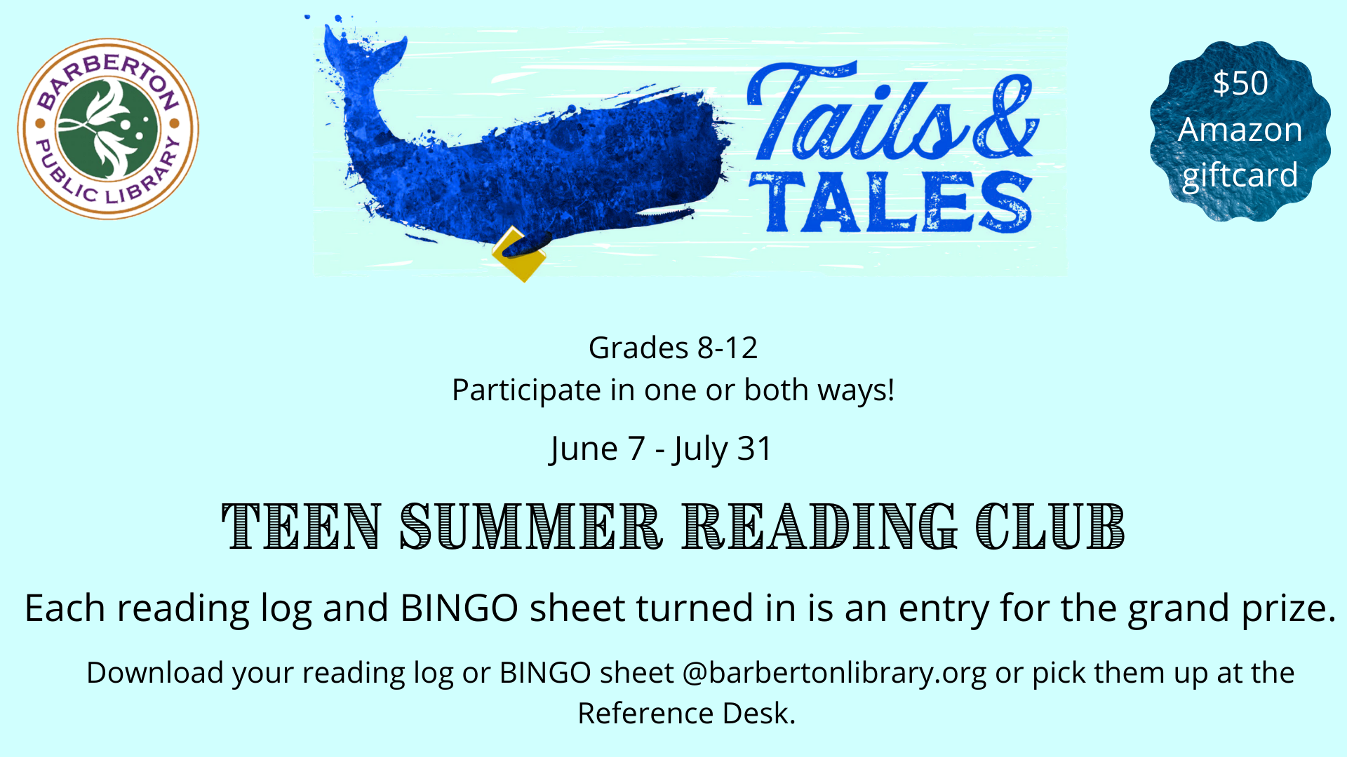 Teen Summer Reading: Tales and Tails