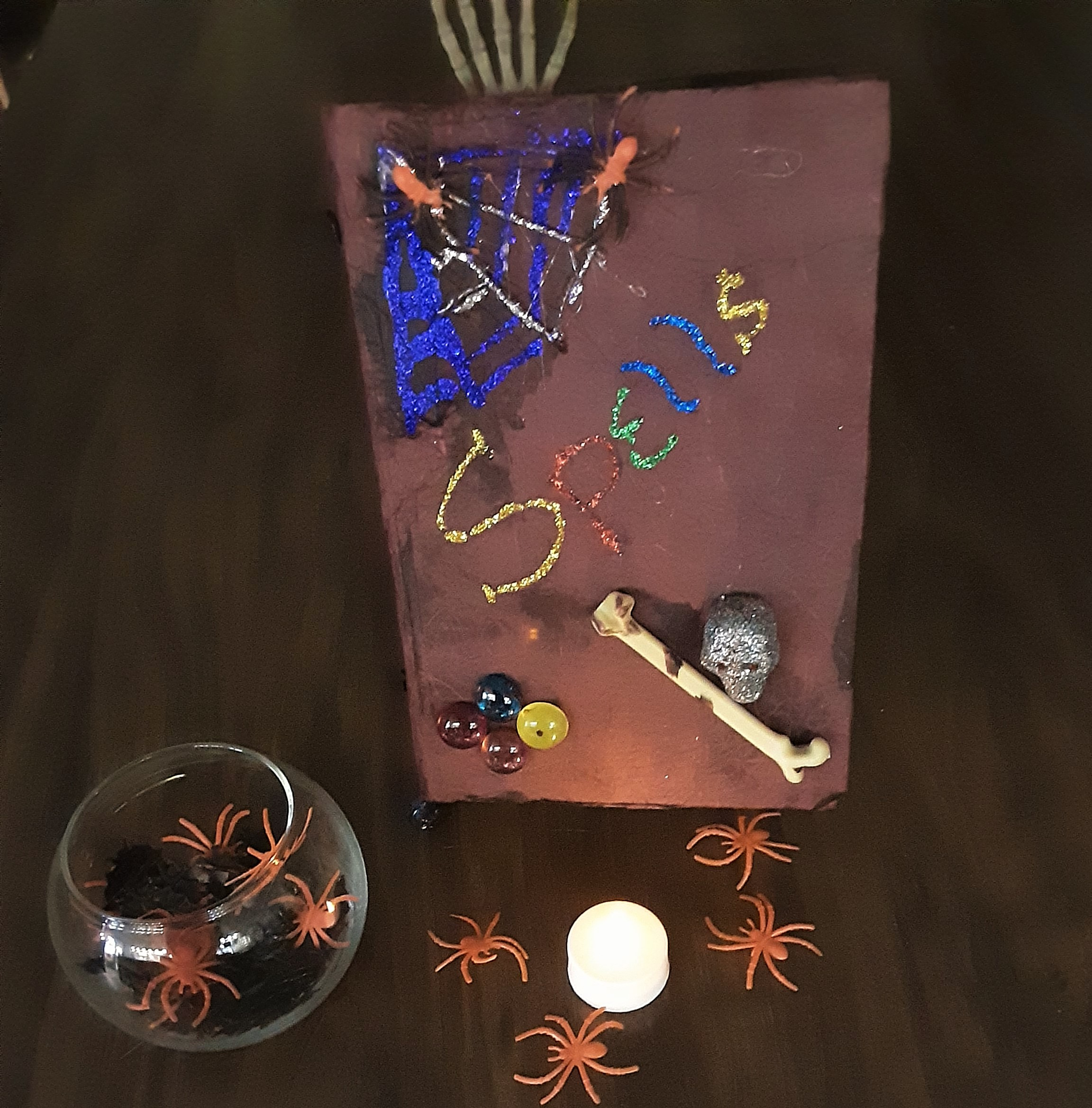 DIY Halloween Spell Book