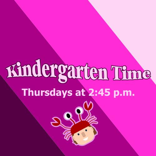 September Kindergarten Time