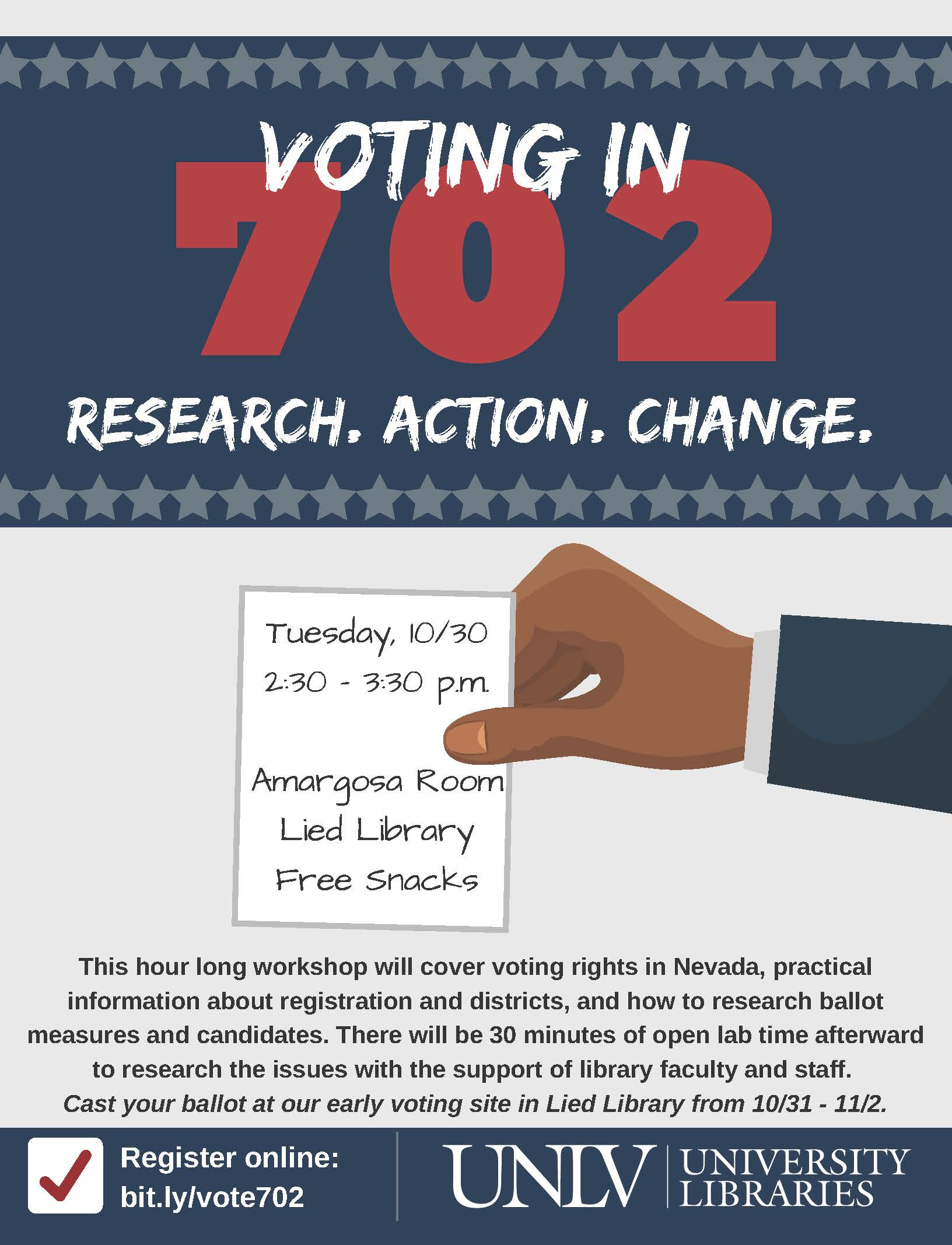 Voting in 702    Research. Action. Change.