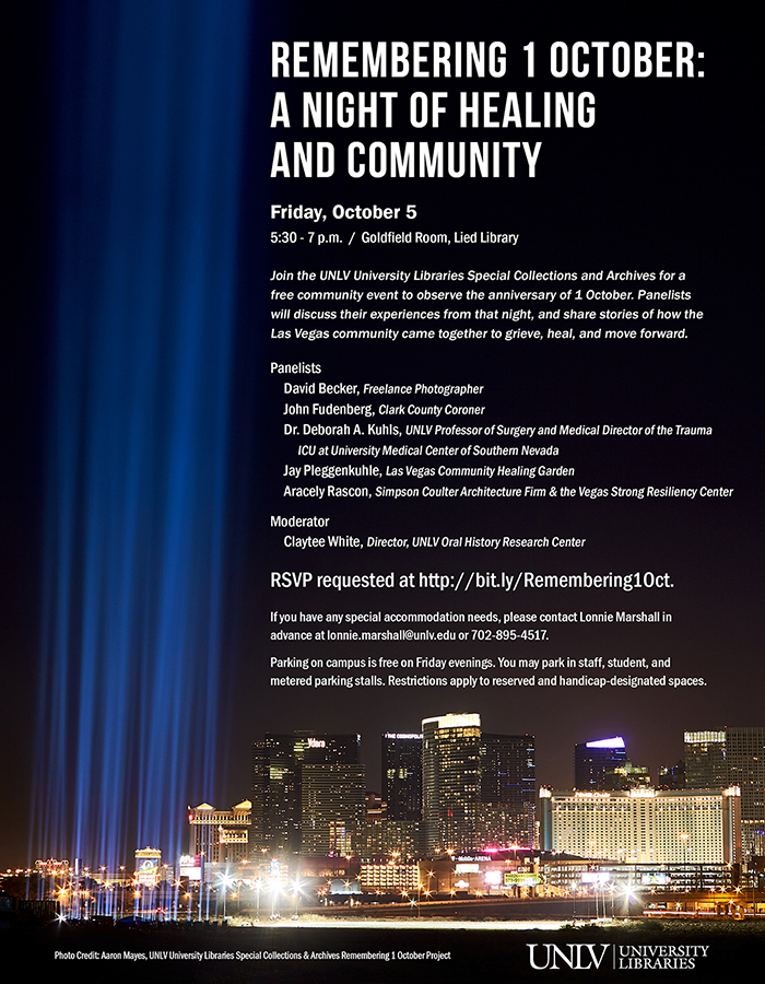 Remembering 1 October: A Night Of Healing And Community