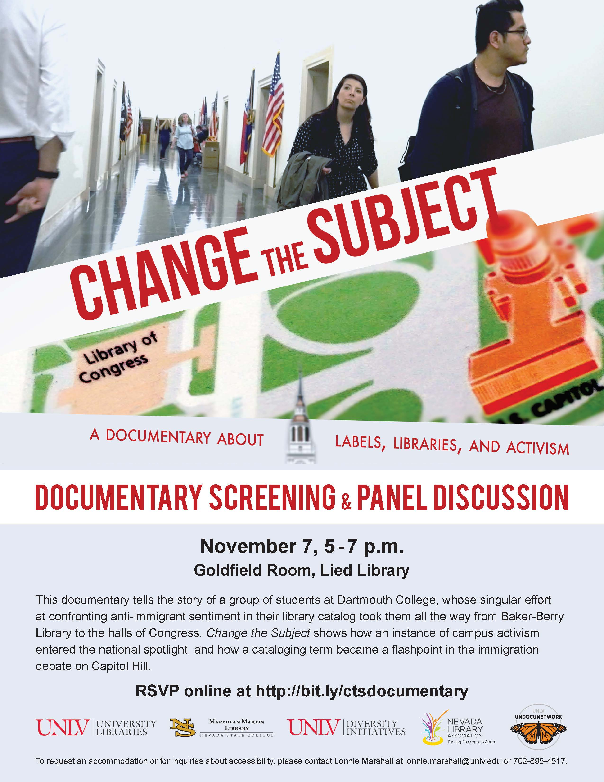 Change the Subject Documentary and Panel