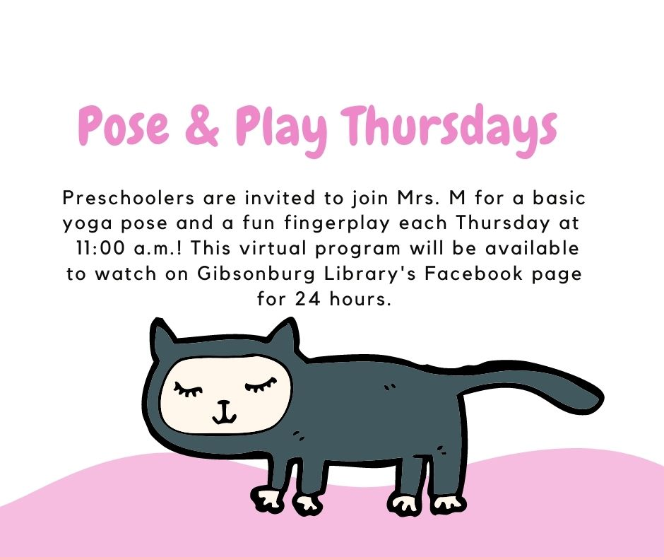 Pose and Play Thursdays!