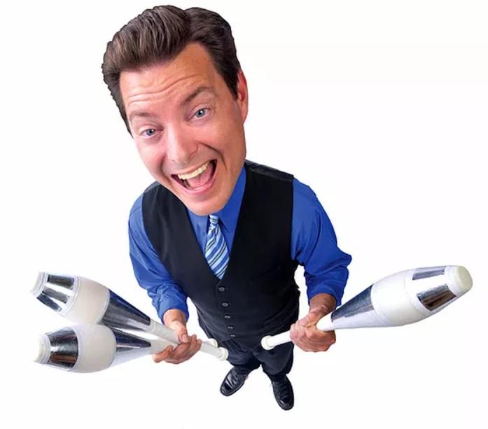Comedy Juggling Show with Matt Jergens!