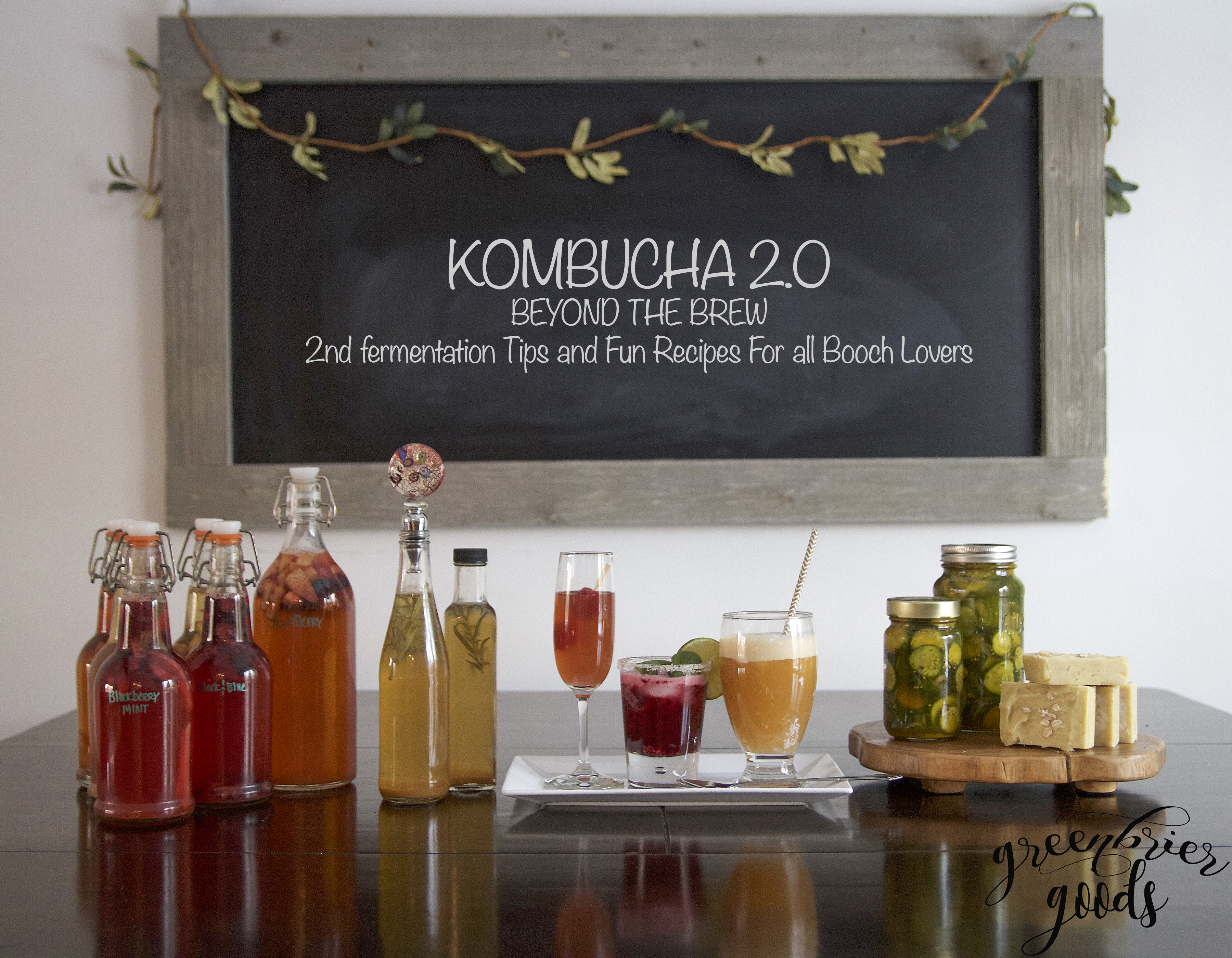 Kombucha workshop: Level 2 beyond the brew