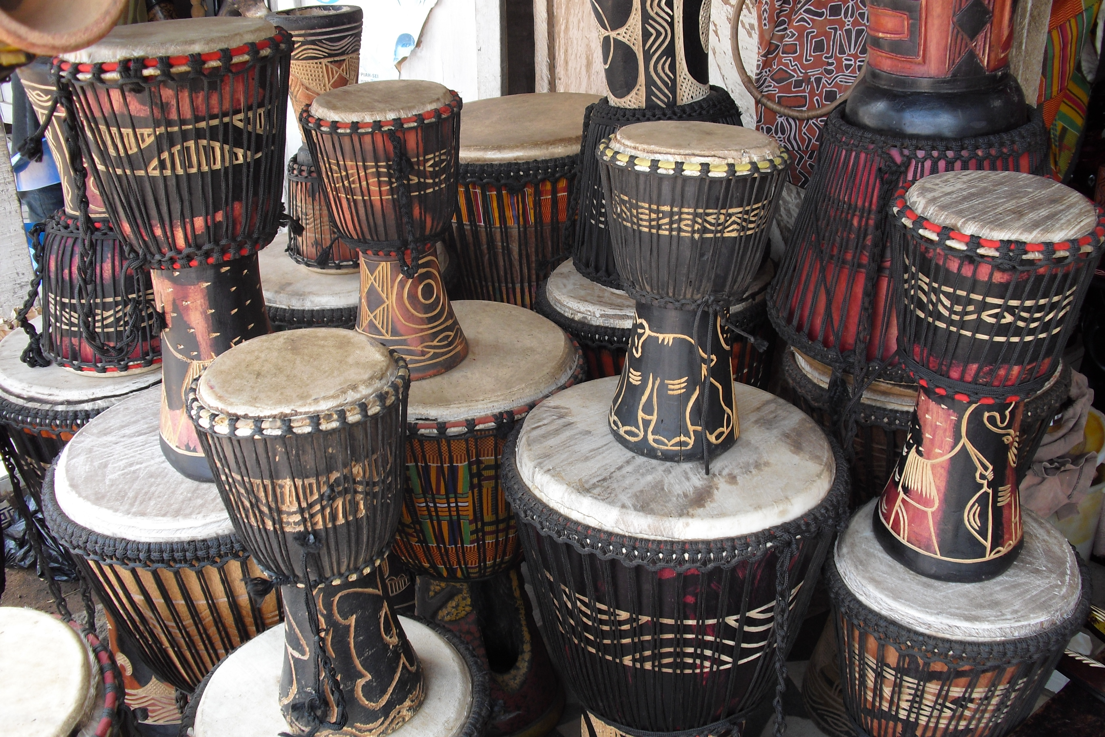 Discover West African Rhythm Through Drumming and Dance