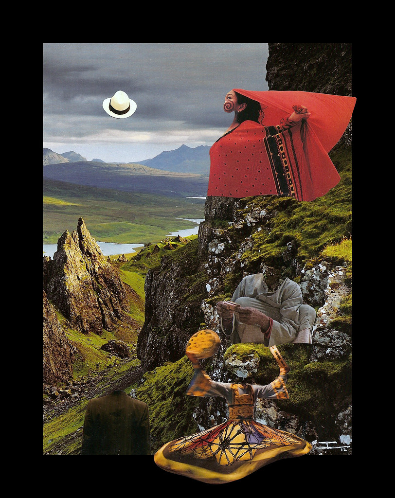 Tween Art: Surrealism collages