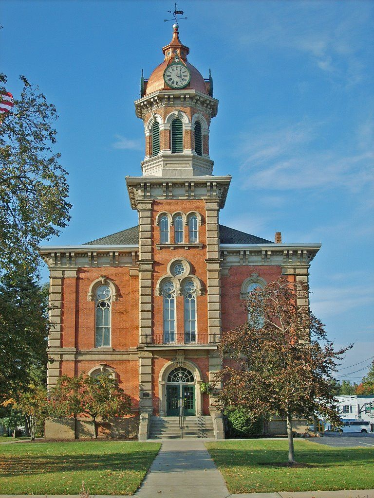 The 1869 Geauga County Court House – A Wider View