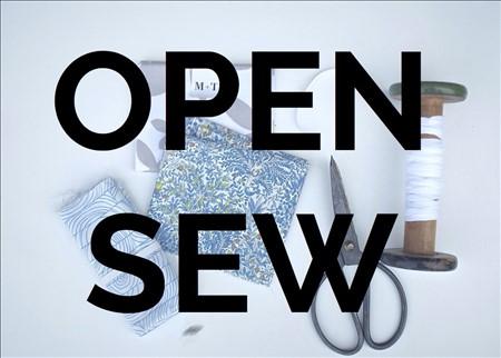 Open-Sew Saturdays!