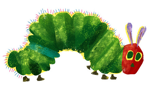Meet the Very Hungry Caterpillar