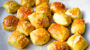 Virtual: Make and Bake at Home with Karen:  Pretzel Bites with Cheese Dip