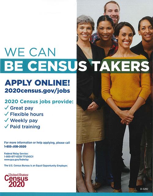 2020 Census Job Fair
