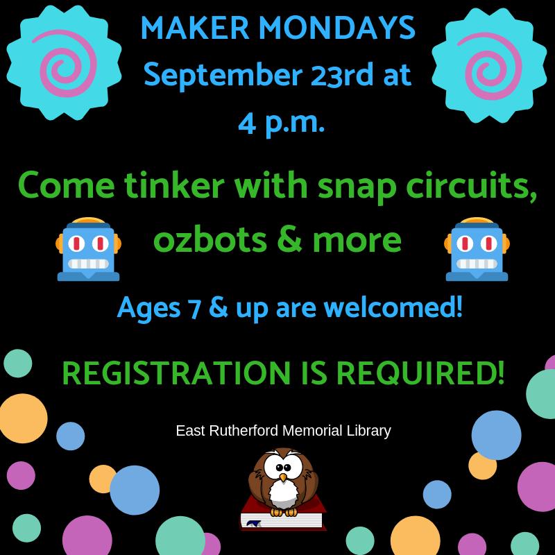 Maker Monday: SNAP CIRCUITS, OZOBTS & MORE