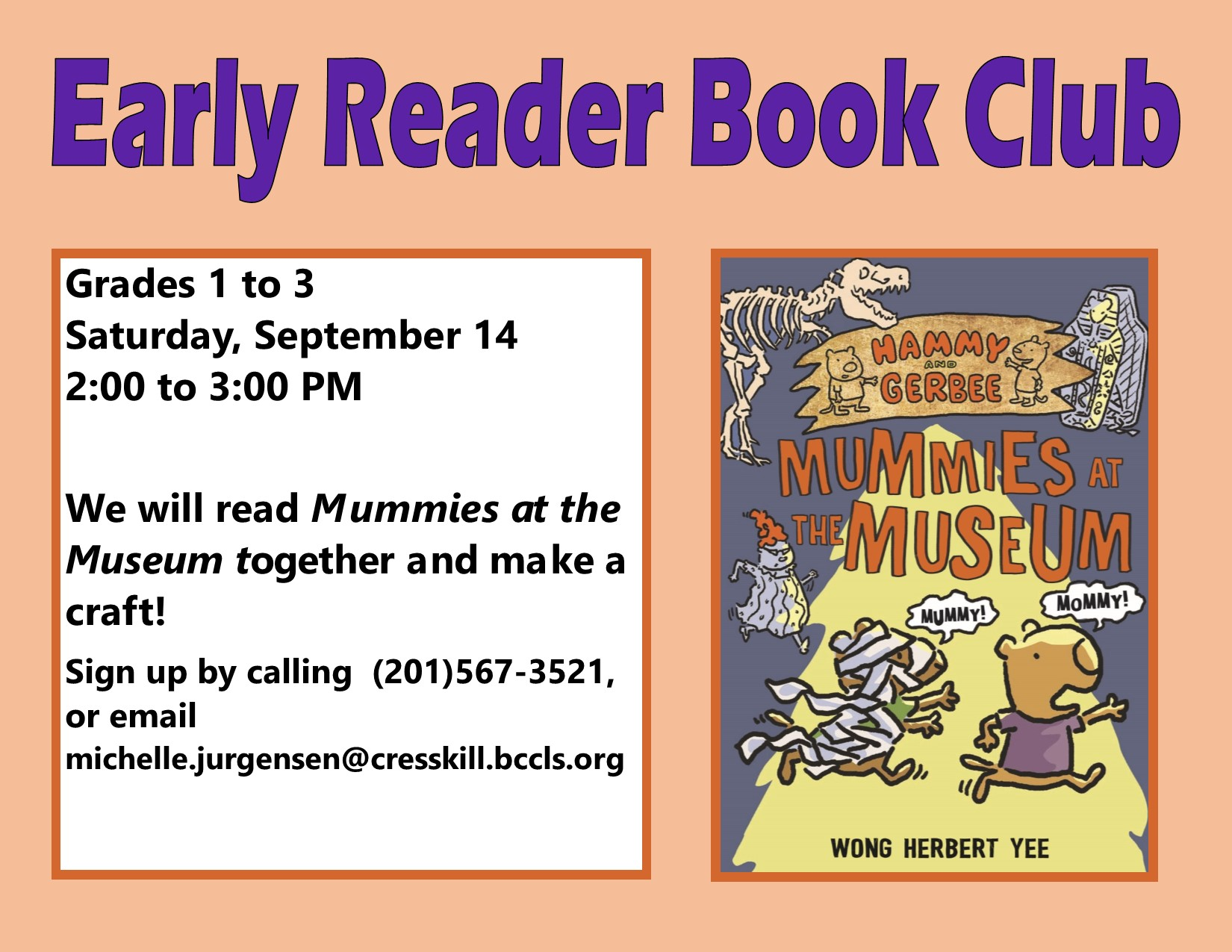 Early Reader Book Club