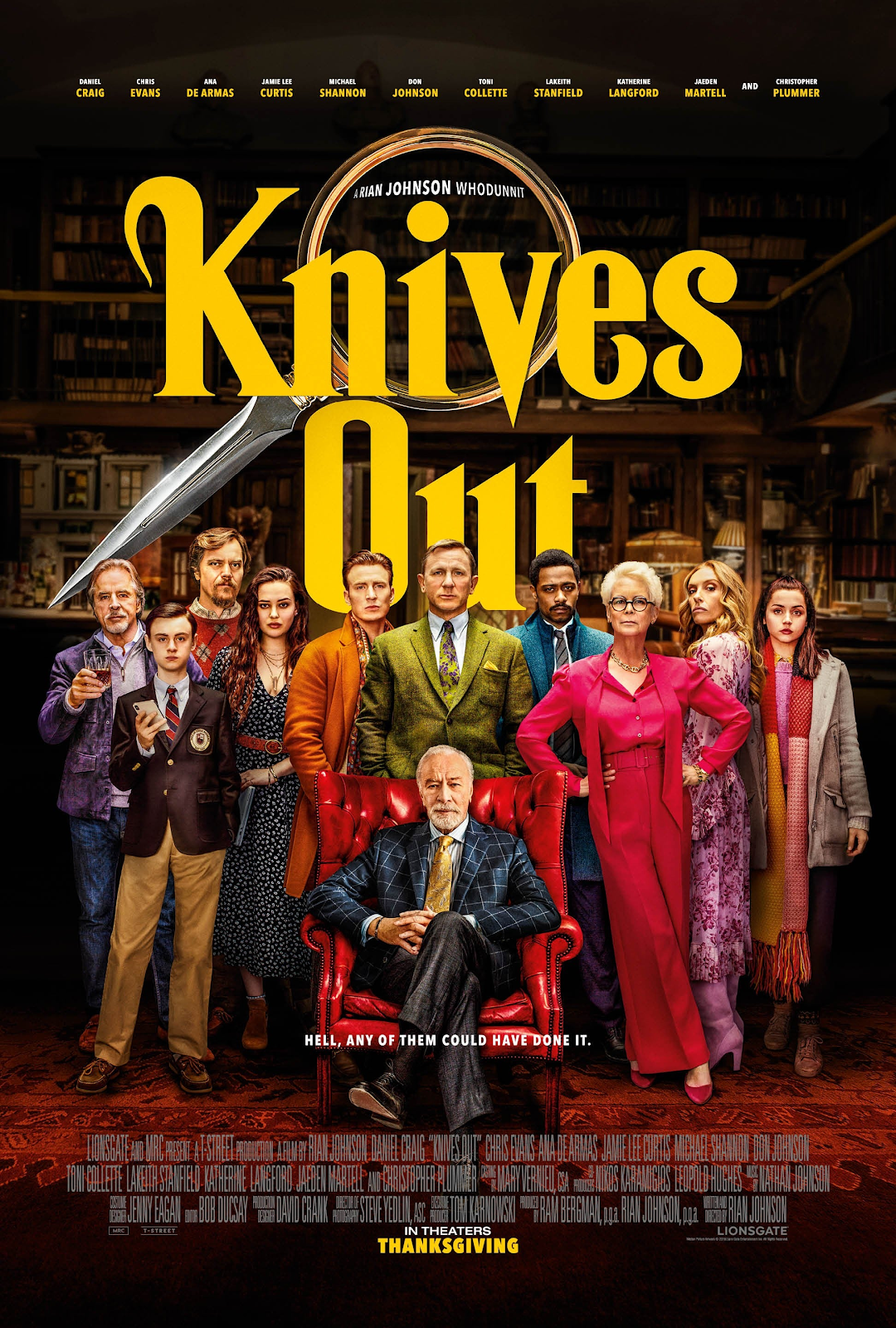 New Movie Tuesday: Knives Out