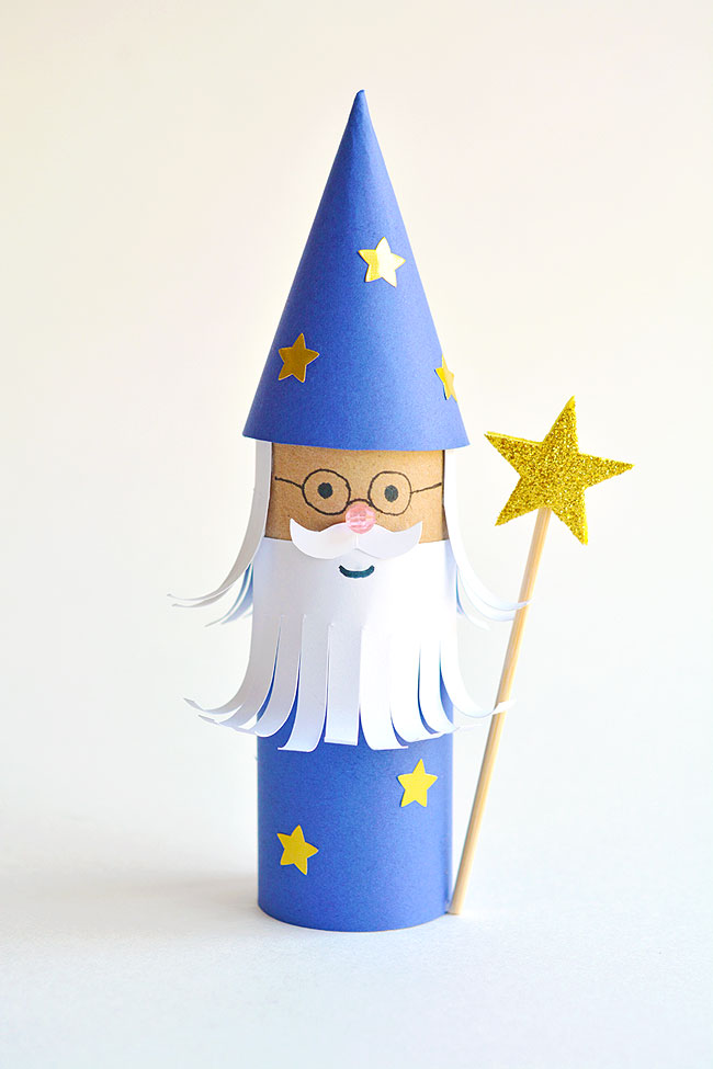 Curbside Crafts: Paper Roll Wizard