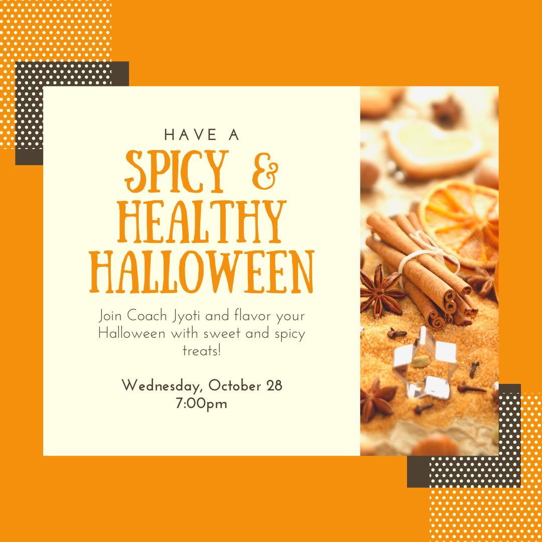 Spicy & Healthy Halloween
